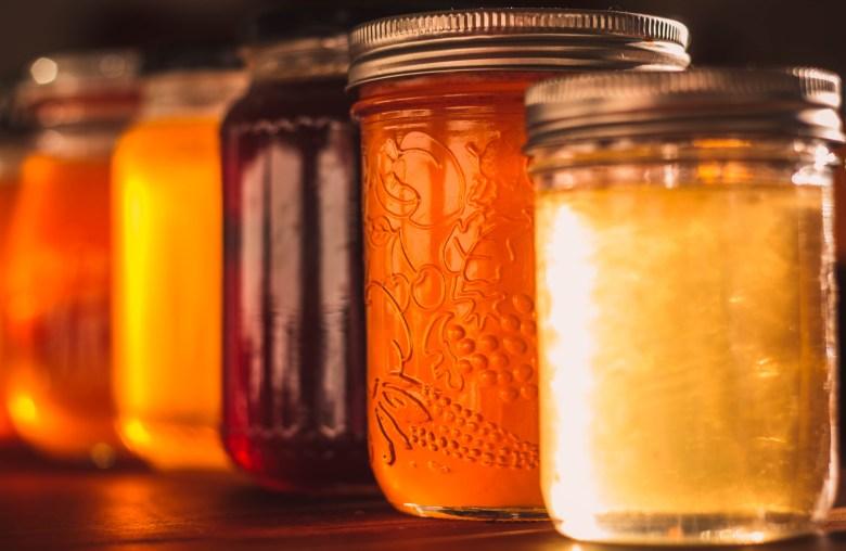 Honey varietals.