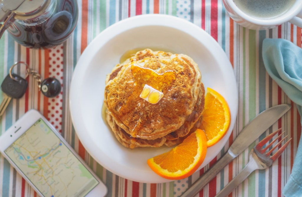 Vegan Pancakes - Whole Grain, Egg-Free, Dairy-Free