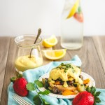 Vegan Benny - Eggless Benedict, no eggs or dairy, gluten-free option.