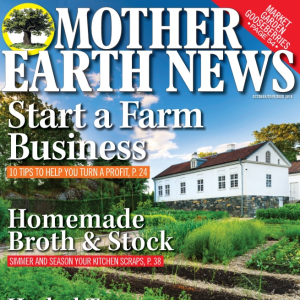 Mother Earth News Cover Fall 2018
