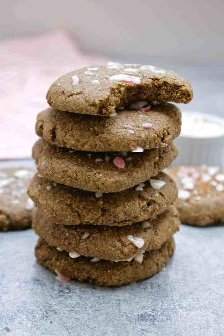 Chewy and delicious vegan gingerbread cookies.