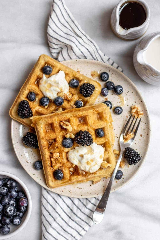 Keto Vegan Waffle