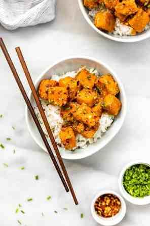 Baked Orange Tofu