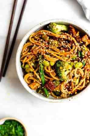 Vegetable Noodle Stir Fry