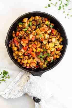 Vegan Roasted Breakfast Potatoes