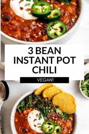 instant pot bean chili