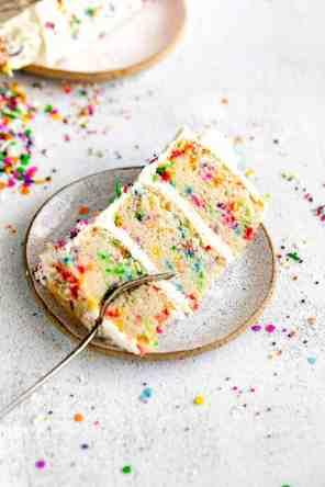 Gluten Free Funfetti Birthday Cake
