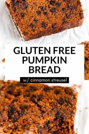 gluten free pumpkin bread