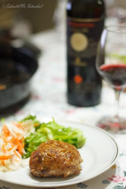 liver-dolma-wine