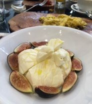 Pulia Barrata with Figs and Figs Marmalade