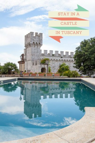 Stay in a Castle in Tuscany