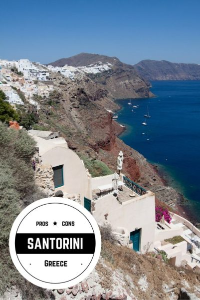Pros & Cons of Santorini, Greece