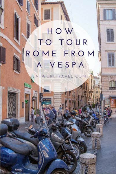 How to See Rome, Italy from a Vespa