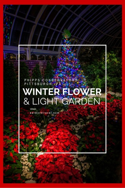Phipps Conservatory Winter Flower Show & Light Garden - Pittsburgh, PA