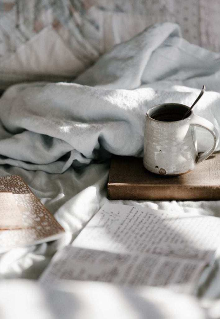 Benefits of journaling at night.