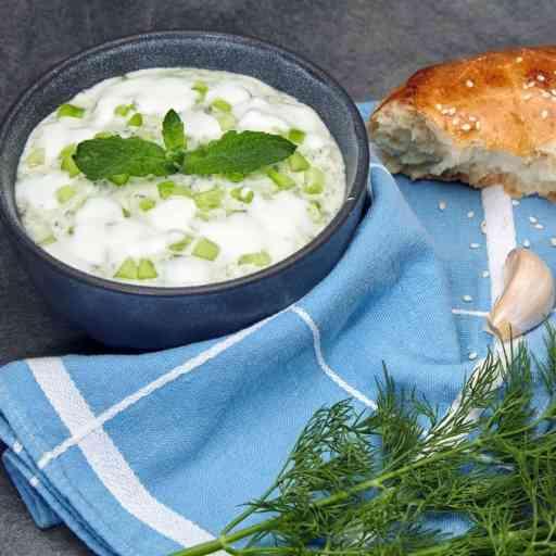 Yogurt garlic sauce