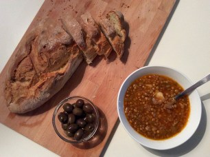 lentil soup @eatyourselfgreek