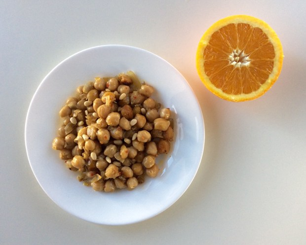 chickpea stew with orange