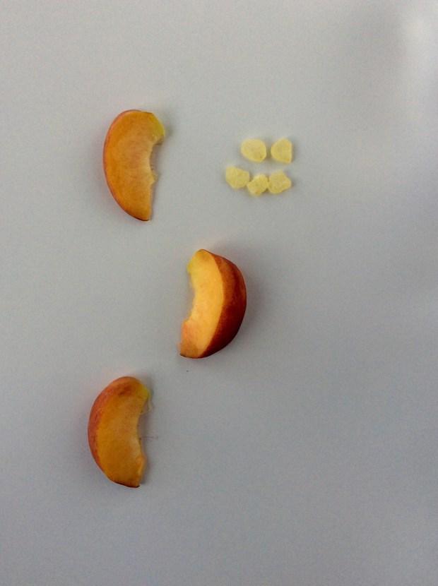 peach & mastic