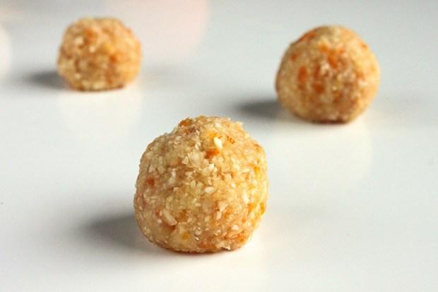 tangerine truffles