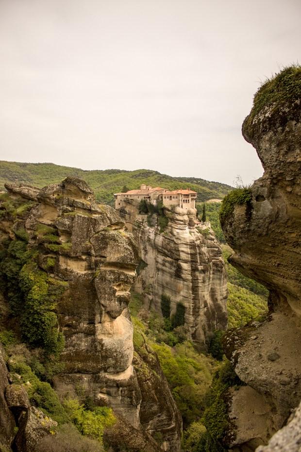 Meteora monastery of Varlaam @eatyourselfgreek