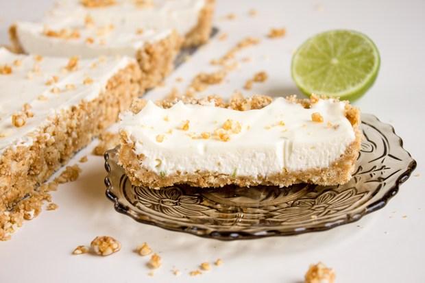 IMG_5375 lime and almond cheesecake
