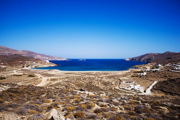 Mykonos best beaches @eatyourselfgreek