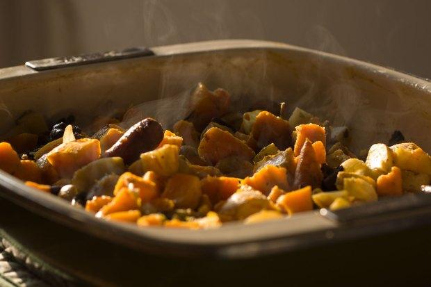 Pumpkin mushroom bake @eatyourselfgreek