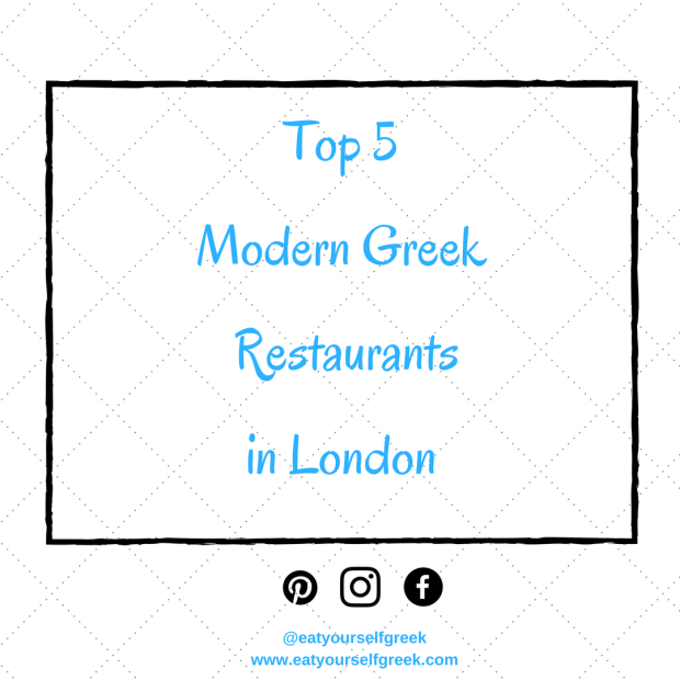 top 5 Modern Greek restaurants in London