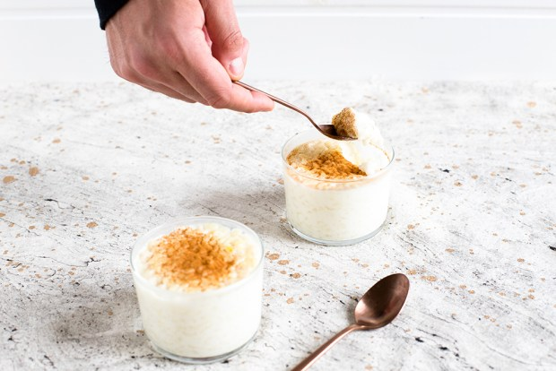 rice pudding @eatyourselfgreek