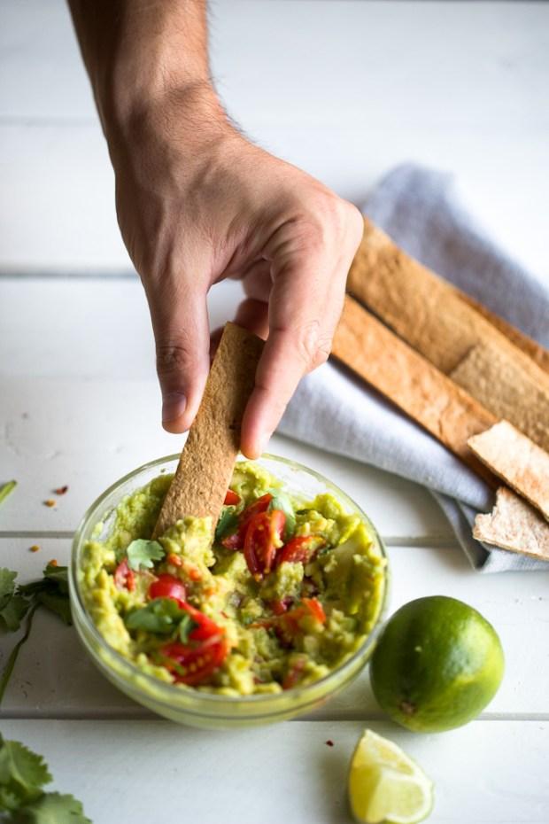 Avocado spread, Alexandros Papandreou recipe for Old El Paso @eatyourselfgreek
