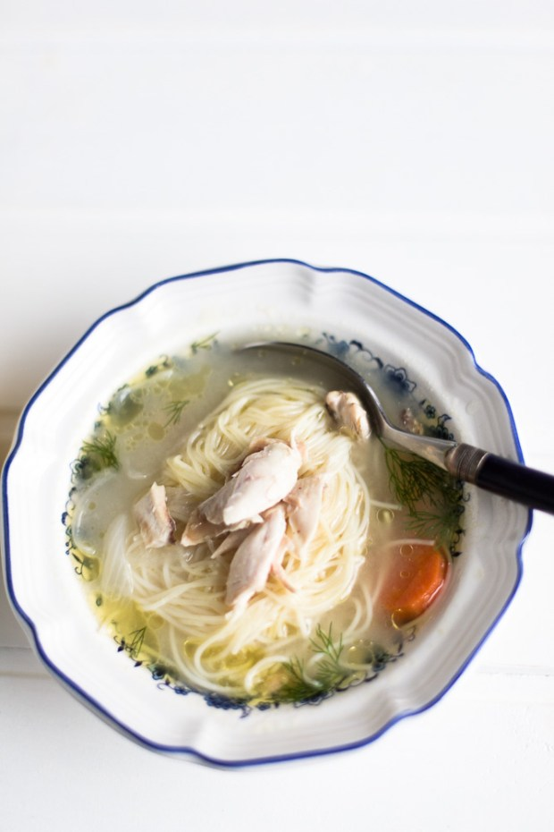 chicken soup @eatyourselfgreek