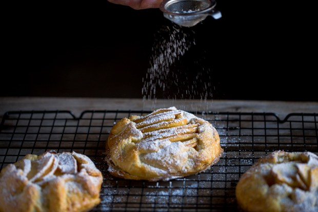 quince galettes