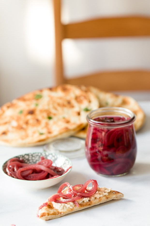 Quick red onion pickles @eatyourselfgreek