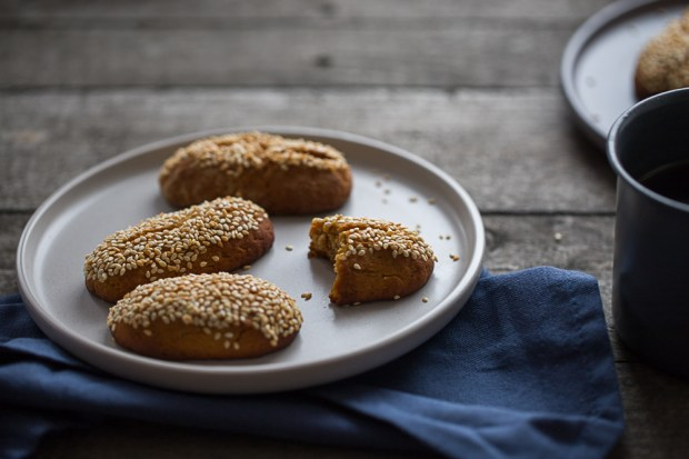grape molasses cookies @eatyourselfgreek