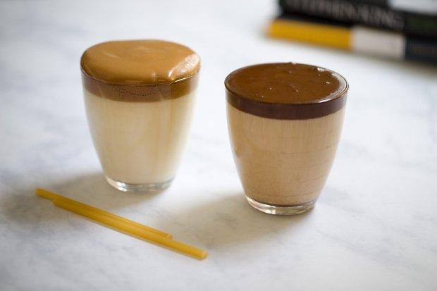 dalgona, iced coffees