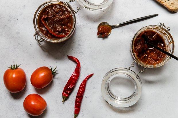 tomato jam @eatyourselfgreek