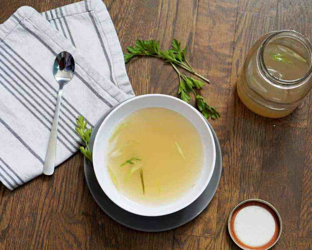 Easier than brewing your morning tea, these 3 simple steps show how to make bone broth at home, saving time and money and improving the nutritional value!
