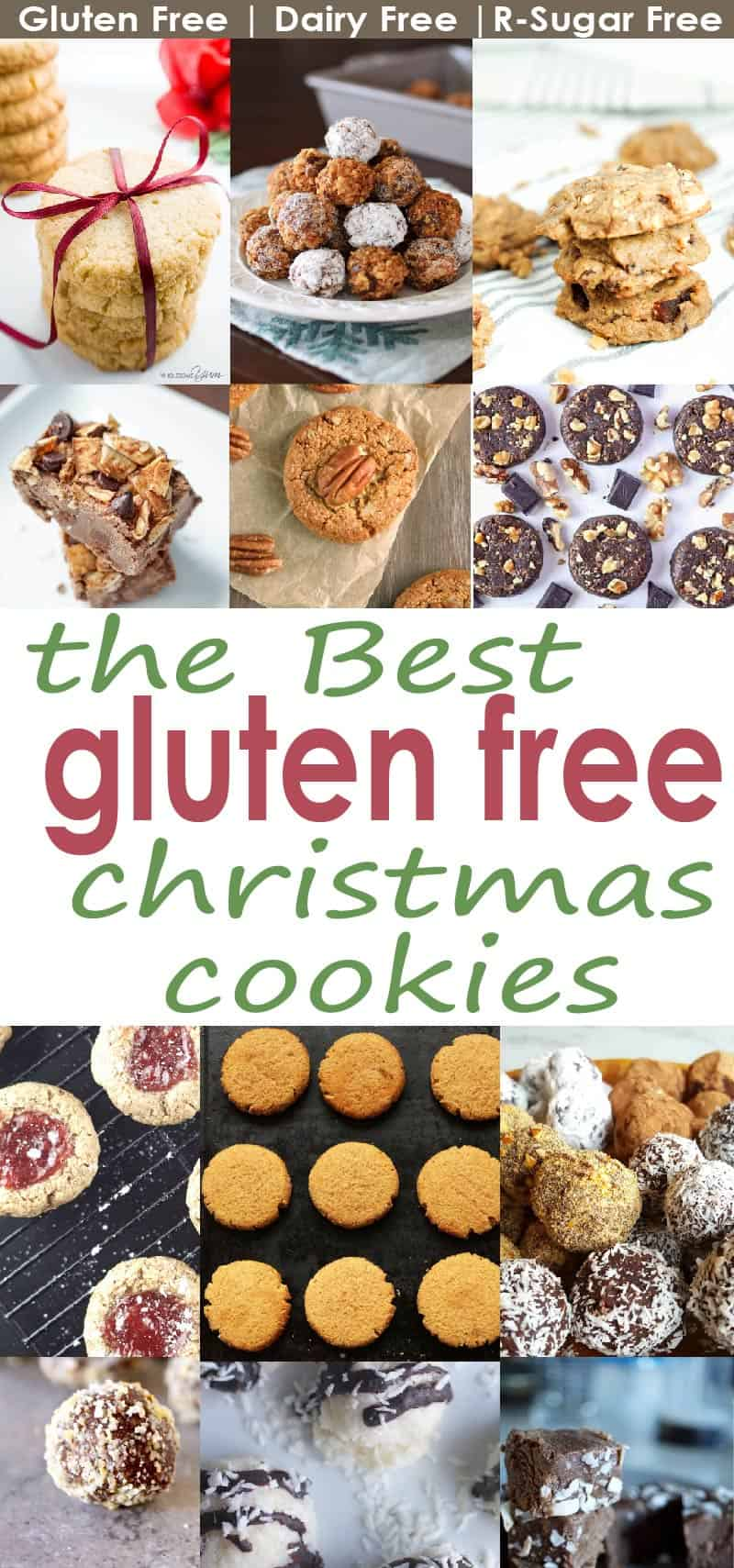 Being gluten free doesn't mean you have to go without this holiday season. These delicious gluten free cookies that will rival the gluten-filled versions.