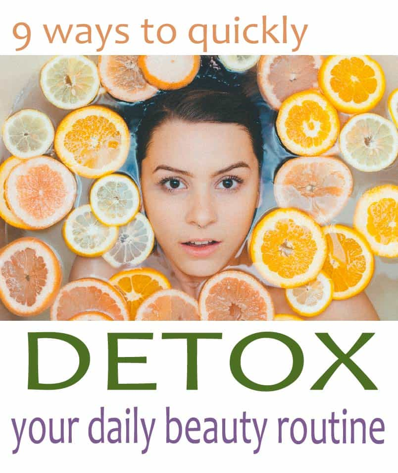 Quick, affordable and easy ways easy to reduce the toxins you encounter every day may be simpler than you think. Follow these ttips to detox your beauty routinge, and live a healthier and cleaner life.