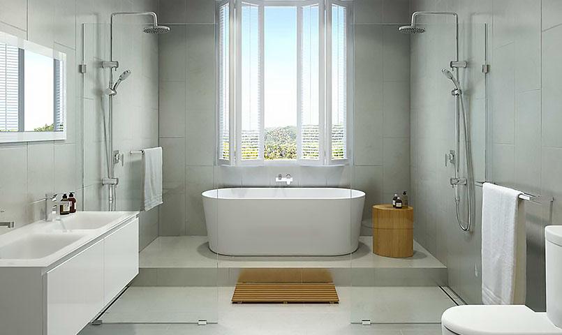 salle de bain et installation