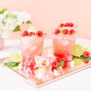 Justine Celina Raspberry Rose Spritz
