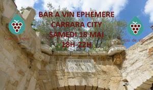 BAR EPHEMERE DANS UNE CARRIERES DE PIERRES - Carrières sur Seine @ CARRARA CITY