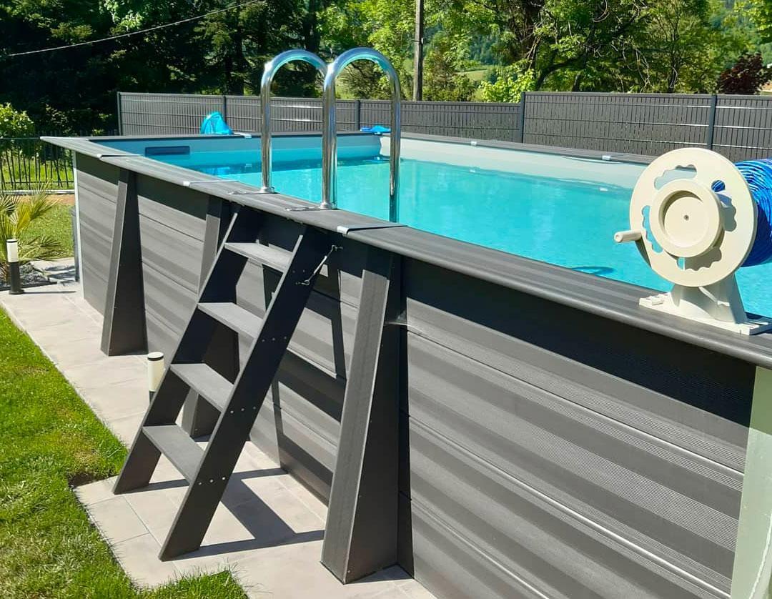 piscine hors sol en composite prix et