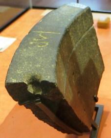 Fragment de clepsydre egyptienne musée du Louvre