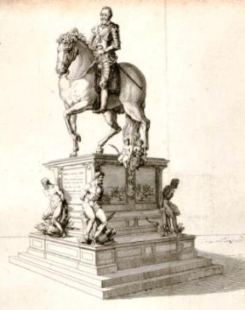 Statue Henri IV Avant 1792