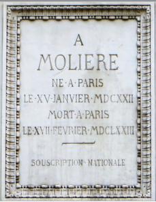 moliere-plaque