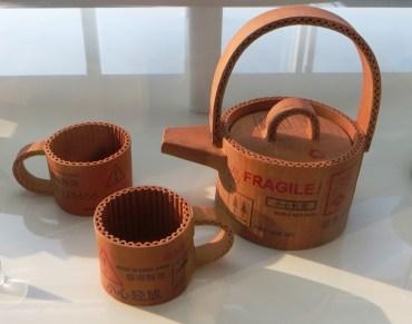 teapot imitation carton
