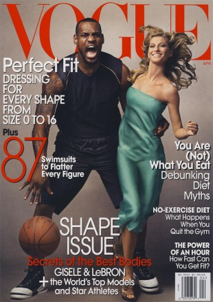 Lebron James in Vogue