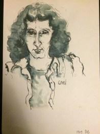 Gabi Aigner, gezeichnet von Marlies Breier (1979)